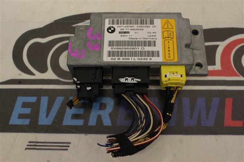 Блок srs Bmw 7 Series 745I E65 N62B44A. 12/2002