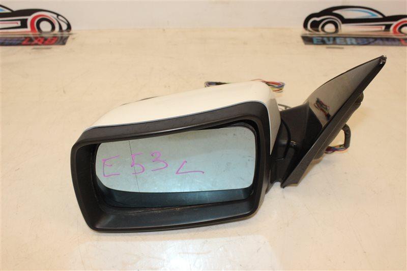 Зеркало Bmw X5 E53 SAV 306S3 М54B30 03/2003 левое