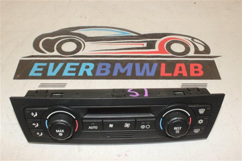 Блок управления климат-контролем Bmw 1 Series E87 N46B20B 06/2006