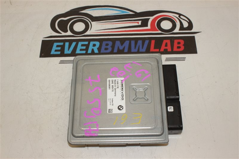 Блок управления efi Bmw 5 Series 525I E61 N52B25A 12/2005