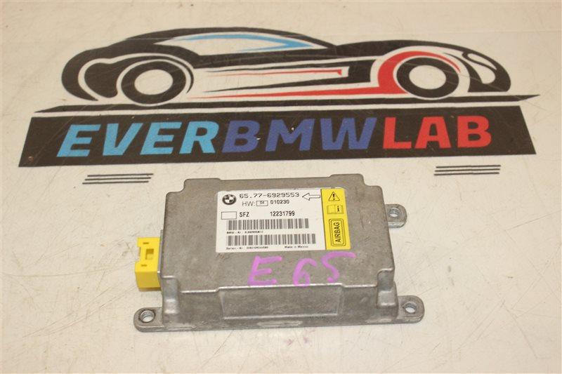 Блок airbag Bmw 7 Series 745I E65 N62B44A. 12/2002
