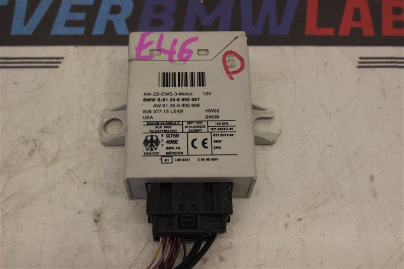 Блок иммобилайзера Bmw 3-Series 320I E46 226S1 M54B22 03/2004