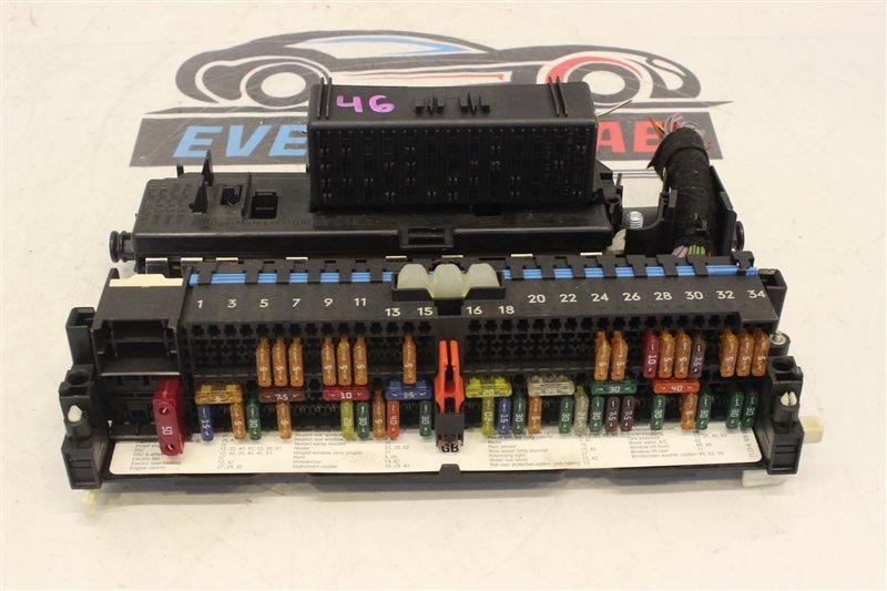 Блок предохранителей Bmw 3-Series 320I E46 226S1 M54B22 03/2004