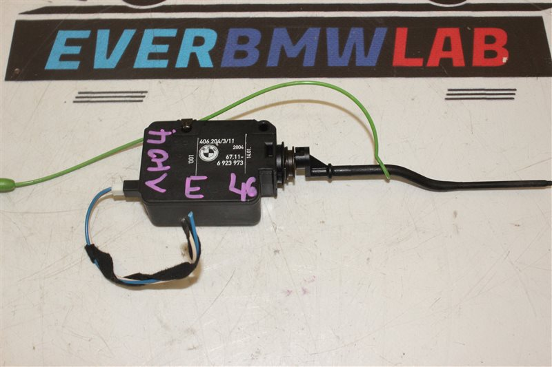 Активатор замка крышки топливного Bmw 3-Series 320I E46 226S1 M54B22 03/2004
