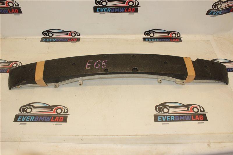 Усилитель бампера Bmw 7 Series 745I E65 N62B44A. 12/2002 передний