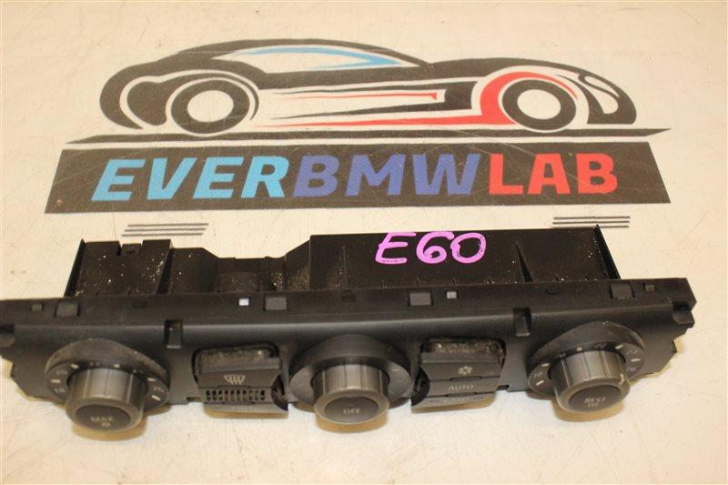Блок управления климат-контролем Bmw 5 Series 525I E60 256S5 03/2004
