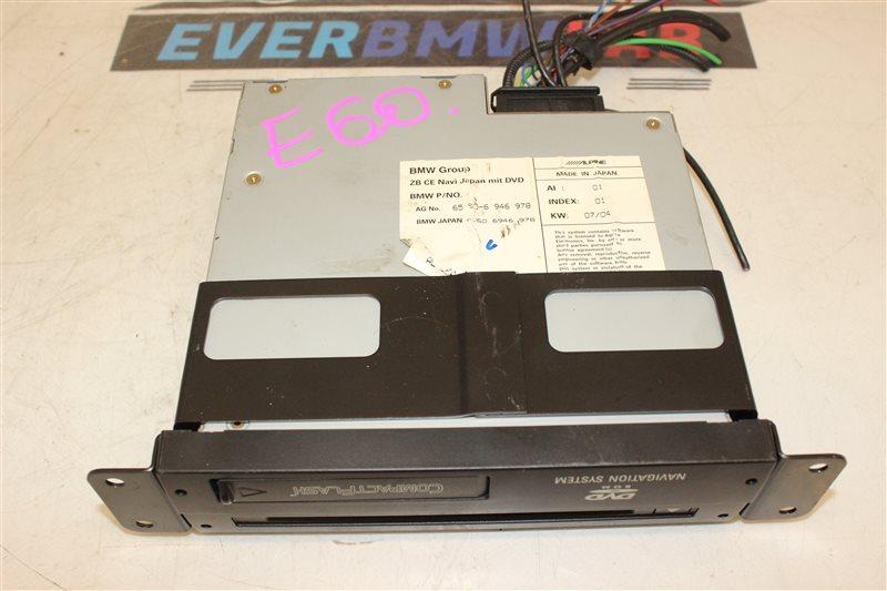 Блок навигации Bmw 5 Series 525I E60 256S5 03/2004
