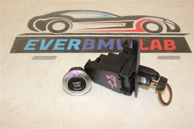 Ключ зажигания + кнопка запуска Bmw 1 Series E87N N45B16A 03 2007