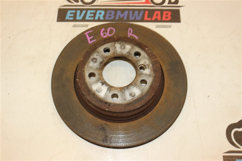 Тормозной диск Bmw 5 Series 525I E60 256S5 03/2004 задний