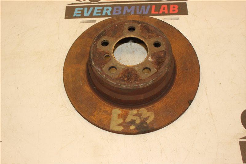 Тормозной диск Bmw X5 E53 SAV 306S3 М54B30 03/2003 задний