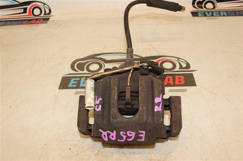 Суппорт Bmw 7 Series 745I E65 N62B44A. 12/2002 задний правый