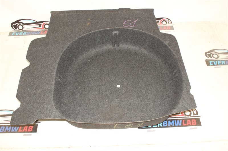 Обшивка ниши запасного колеса Bmw 5 Series 525I E61 N52B25A 12/2005