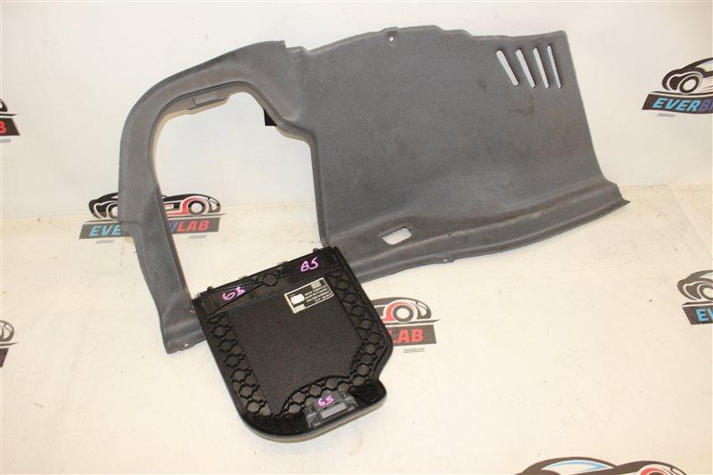 Обшивка багажника Bmw 7 Series 745I E65 N62B44A. 12/2002 левая