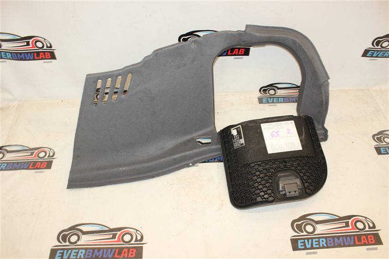 Обшивка багажника Bmw 7 Series 745I E65 N62B44A. 12/2002 правая