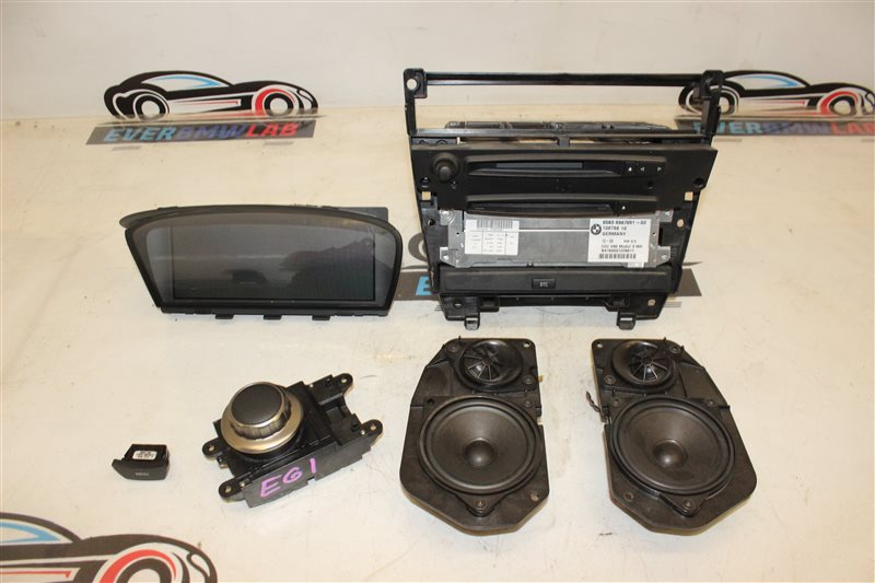 Магнитола Bmw 5 Series 525I E61 N52B25A 12/2005