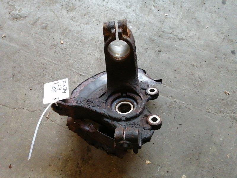 Поворотный кулак Mazda 3 BK Z6 2005 передний левый (б/у)