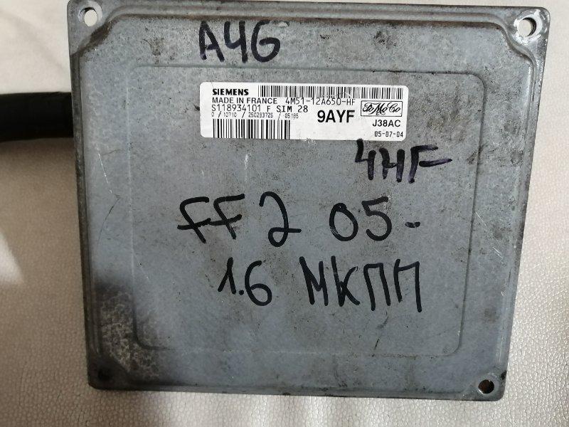 Блок управления двигателем Ford Focus 2 1.6L ZETEC-S PFI 2005 (б/у)