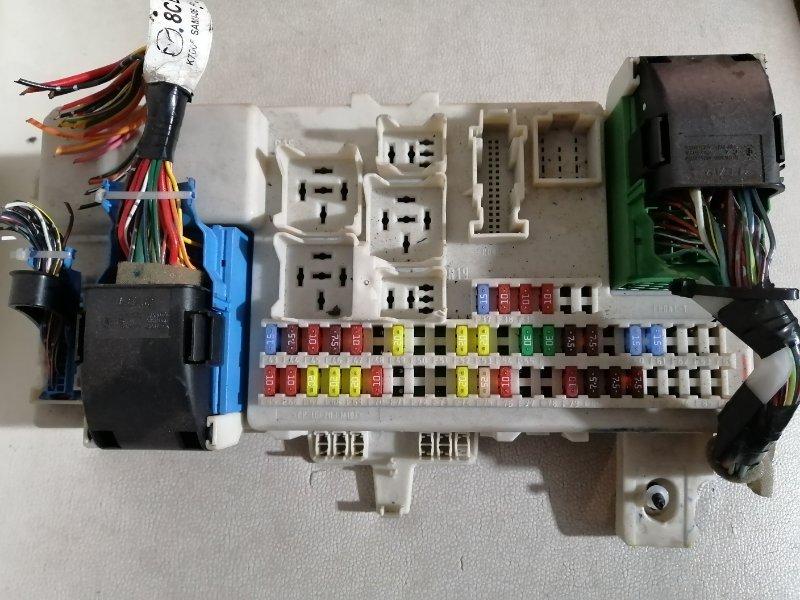 Блок предохранителей Mazda 3 BK Z6 2005 (б/у)