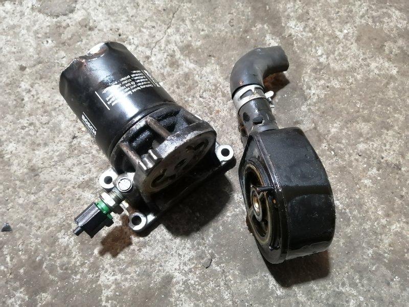 Кронштейн масляного фильтра Mazda 6 GG LF 2005 (б/у)