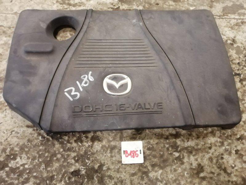 Накладка декоративная на двигатель Mazda 3 BK LF 2006 (б/у)