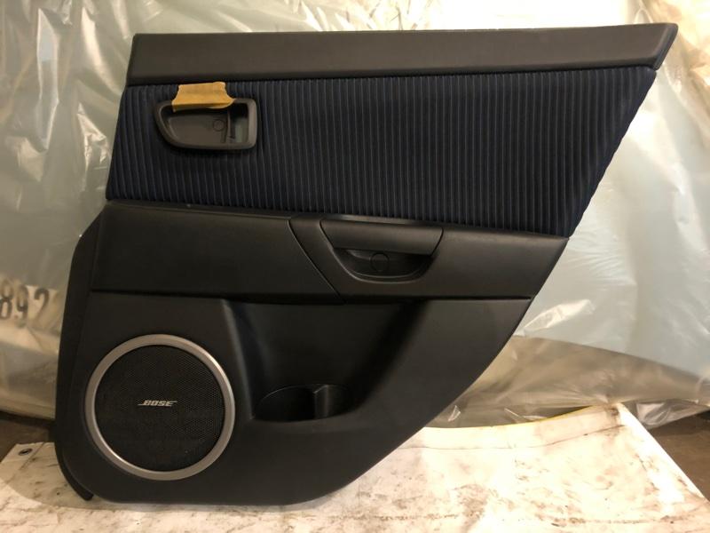 Обшивка салона Mazda 3 BK LF 2006 (б/у)