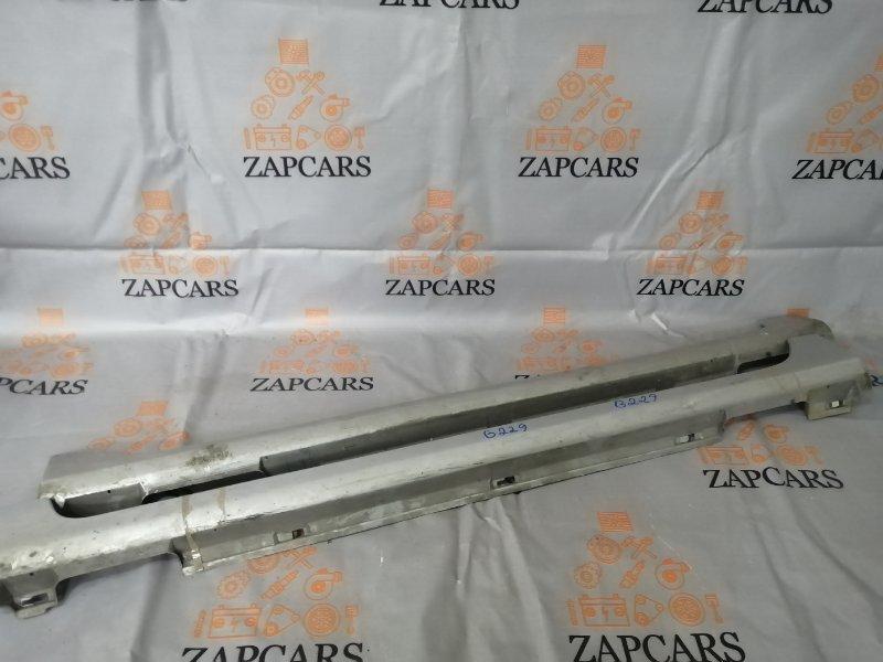 Накладки на пороги Mazda 3 BK LF 2006 (б/у)
