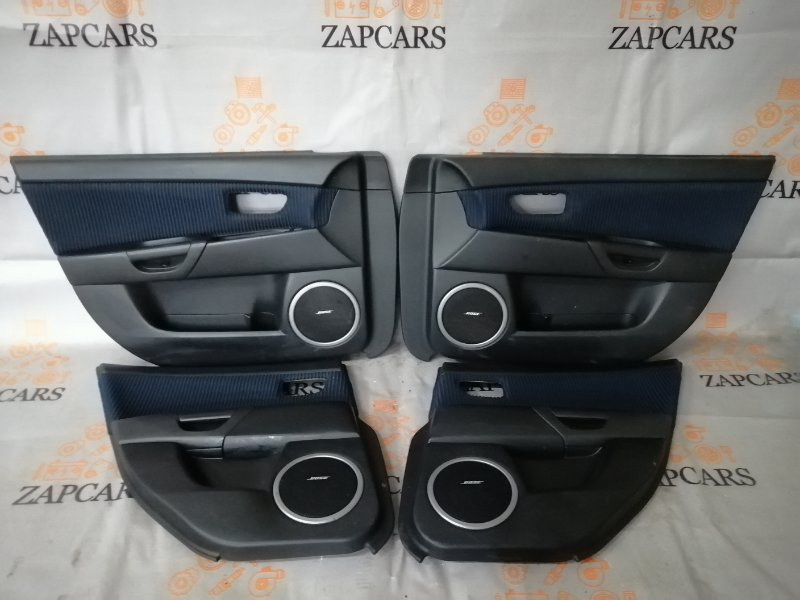 Обшивки дверей Mazda 3 BK LF 2006 (б/у)