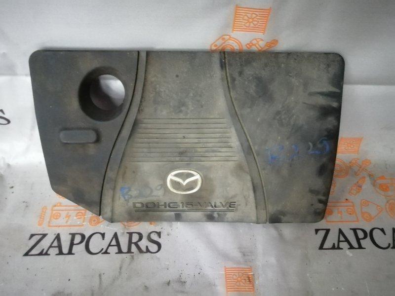 Крышка двигателя Mazda 3 BK LF 2006 (б/у)