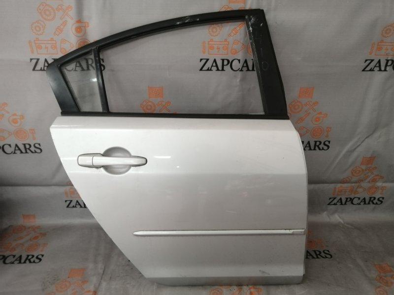 Дверь Mazda 3 BK Z6 2005 задняя правая (б/у)
