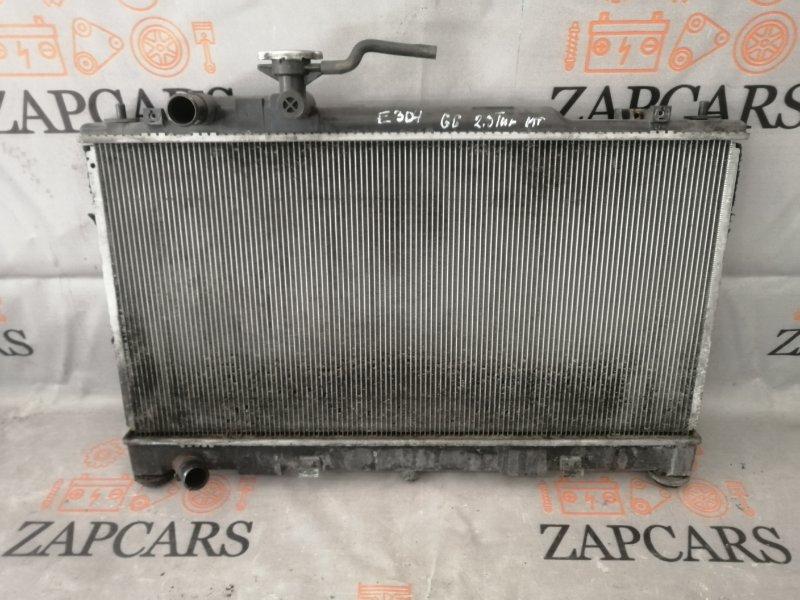 Радиатор двс Mazda 6 Mps GG L3-VDT 2006 (б/у)