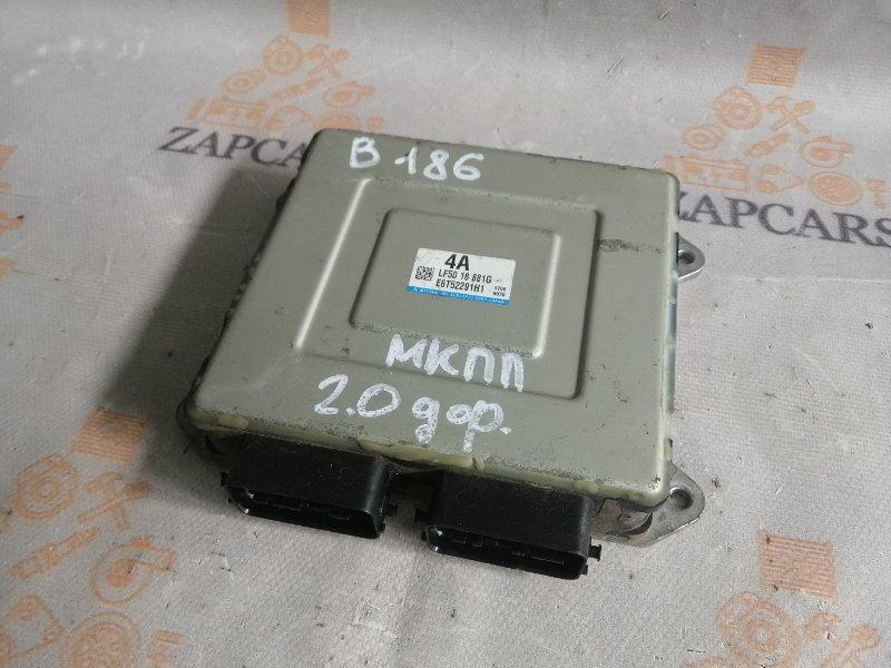 Блок управления двигателем Mazda 3 BK LF 2006 (б/у)
