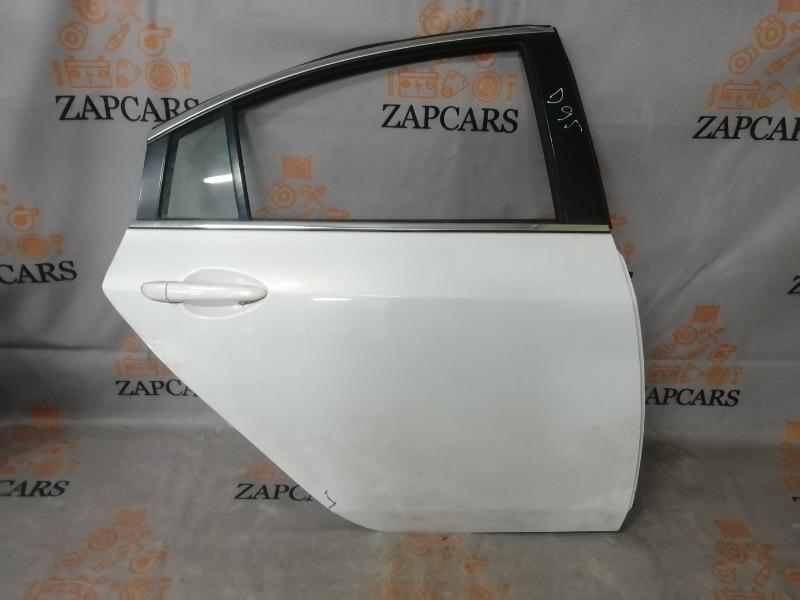 Дверь Mazda 6 GH L5VE 2009 задняя правая (б/у)