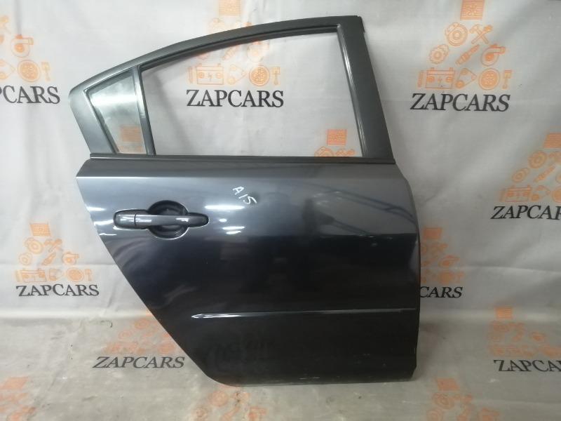 Дверь Mazda 3 BK Z6 2007 задняя правая (б/у)