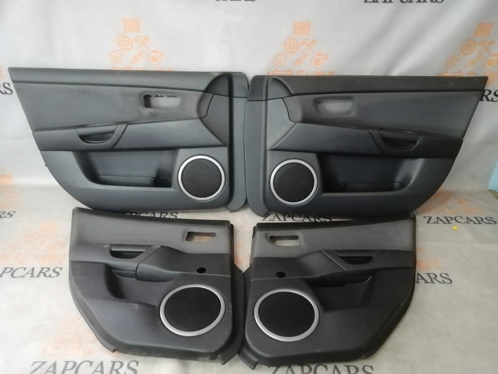 Обшивки дверей Mazda 3 BK Z6 2005 (б/у)