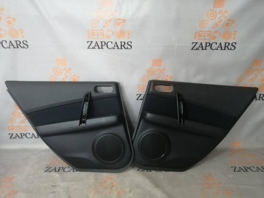 Обшивки дверей Mazda 6 GH L8 2010 задние (б/у)