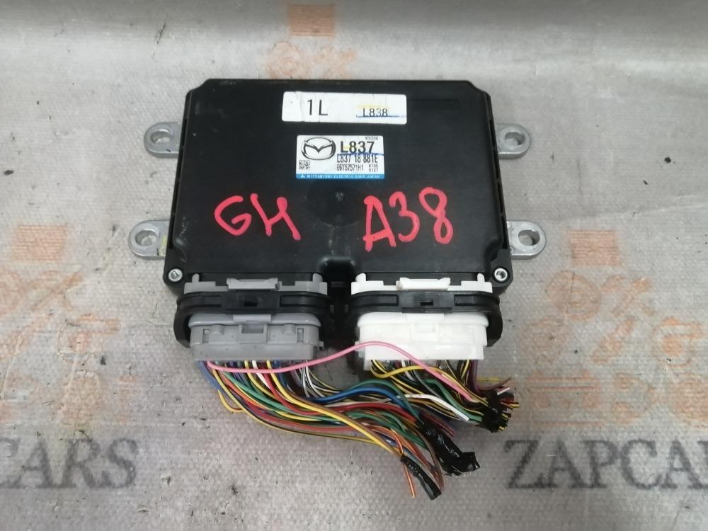 Блок управления двигателем Mazda 6 GH L8 2010 (б/у)