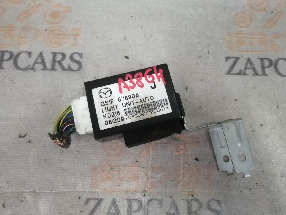Блок управления светом Mazda 6 GH L8 2010 (б/у)