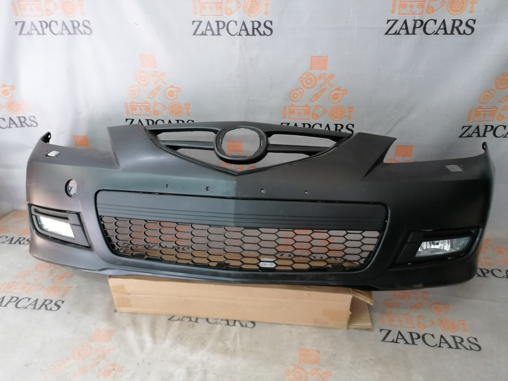 Бампер Mazda 3 BK 2007 передний