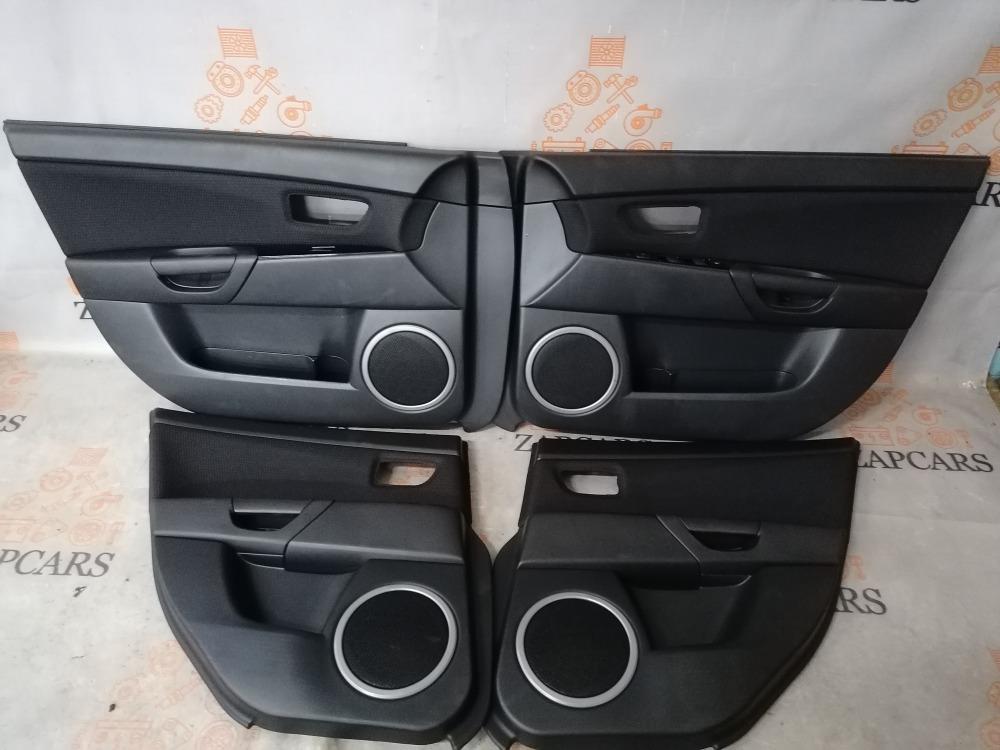 Обшивки дверей Mazda 3 BK Z6 2008 (б/у)