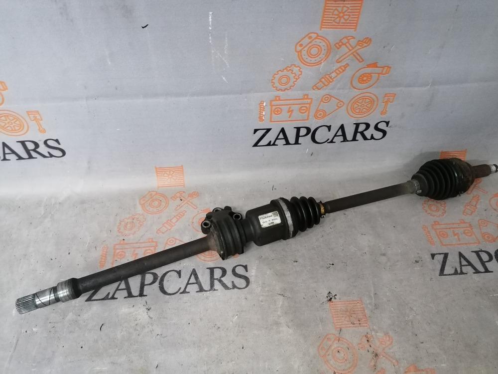 Привод Mazda 3 BK Z6 2008 правый (б/у)
