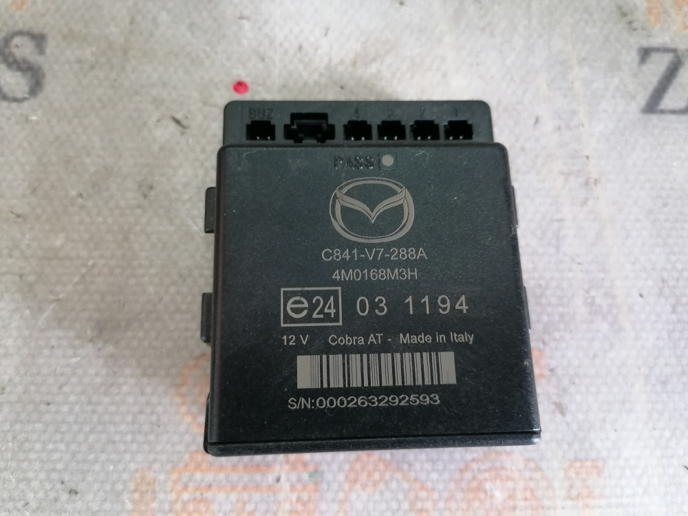 Блок парктроников Mazda 3 BK Z6 2008 (б/у)