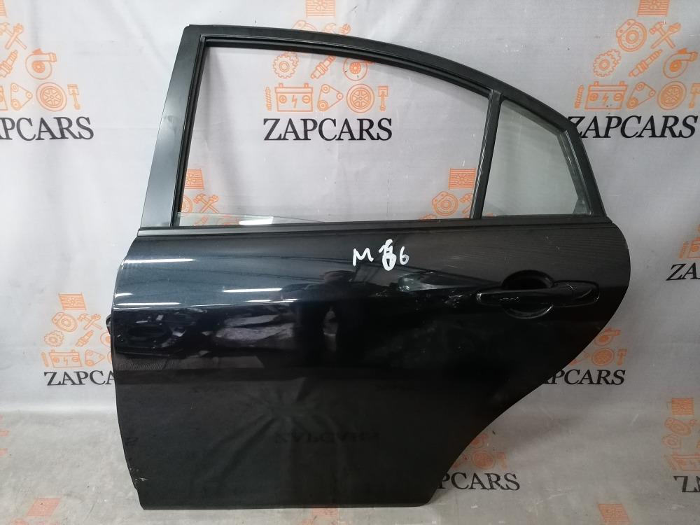 Дверь Mazda 6 GG L8 2006 задняя левая (б/у)