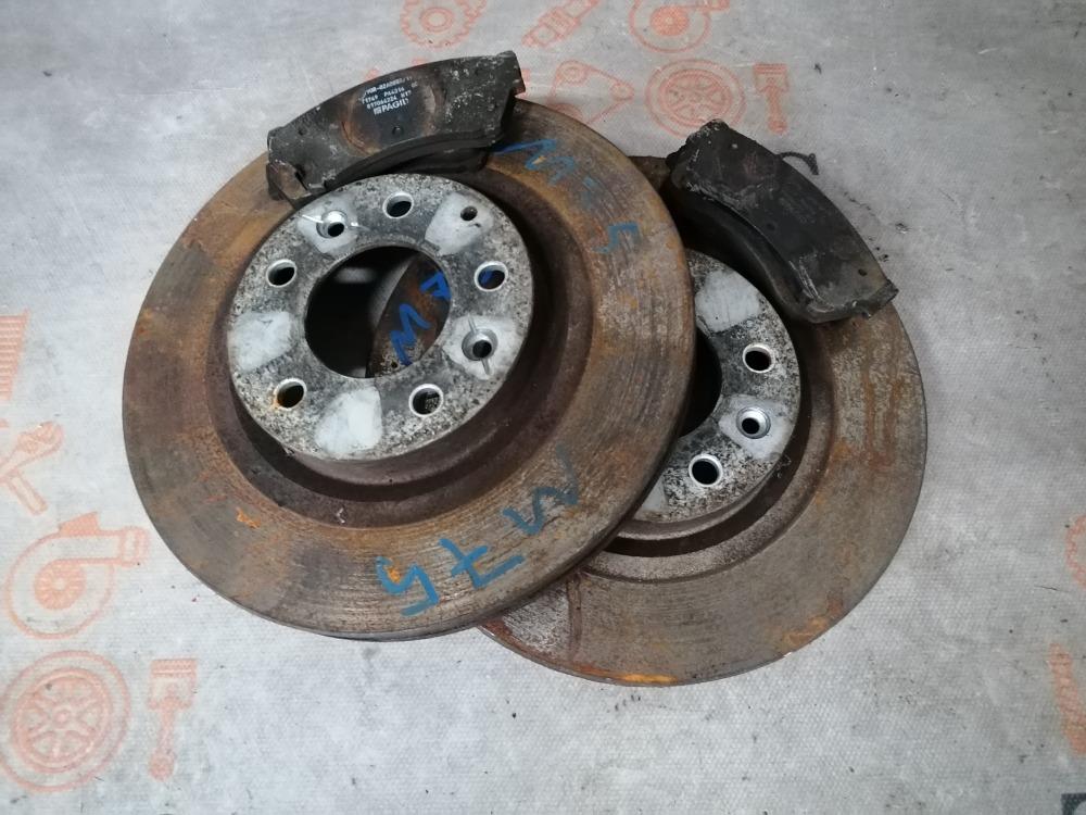 Тормозные диски Mazda 6 GH LF17 2008 (б/у)