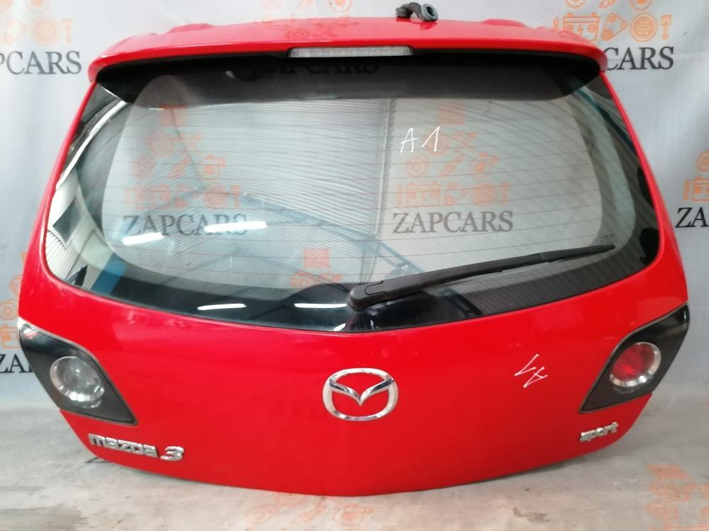 Крышка багажника Mazda 3 BK LF17 2007 (б/у)