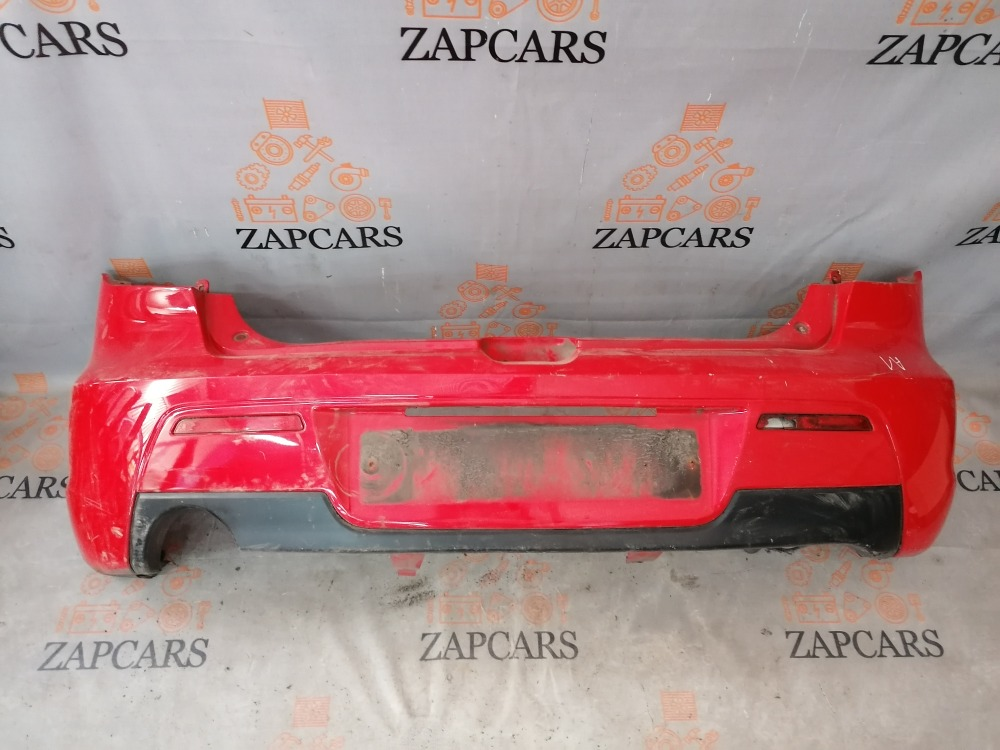 Бампер Mazda 3 BK LF17 2007 задний (б/у)