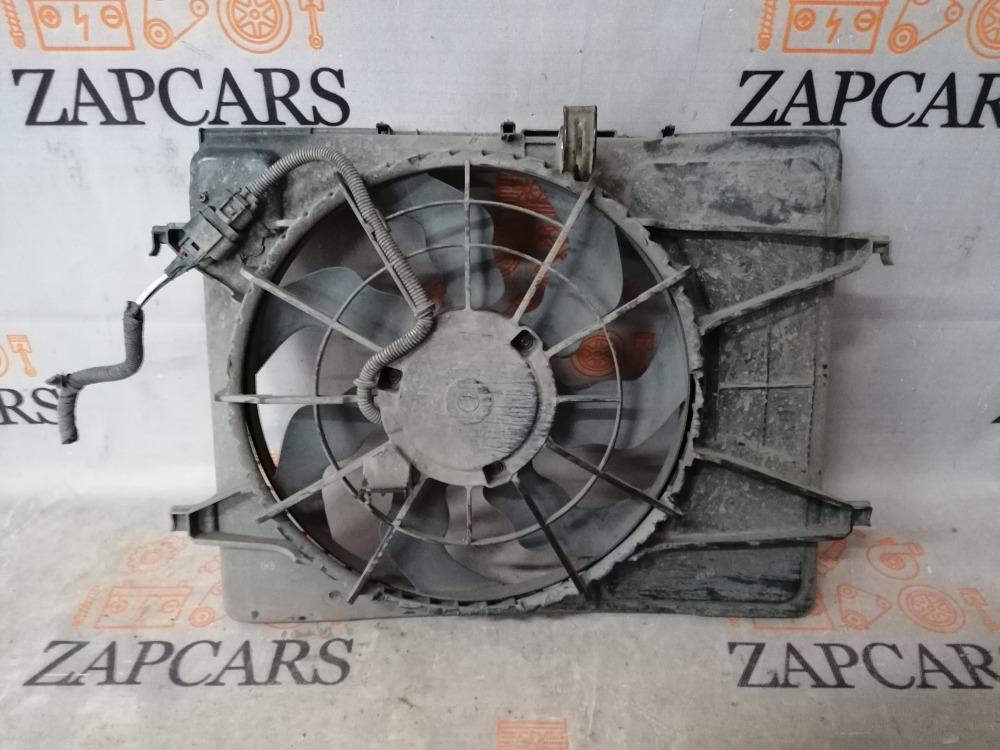 Вентилятор радиатора Kia Ceed ED (б/у)