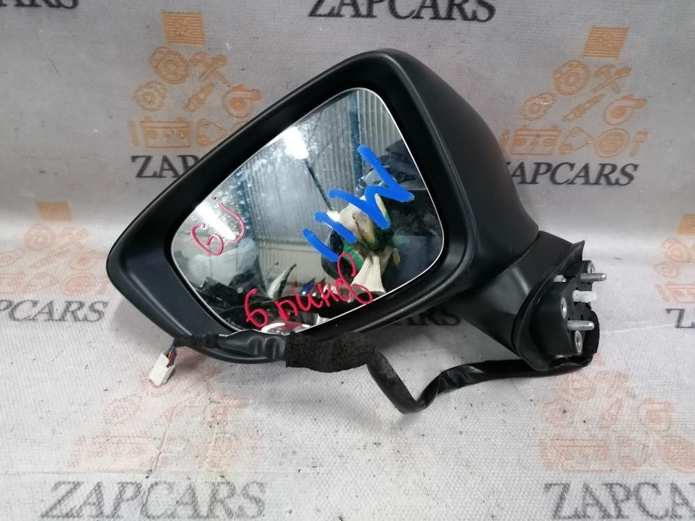Зеркало Mazda 6 GJ 2013 левое (б/у)