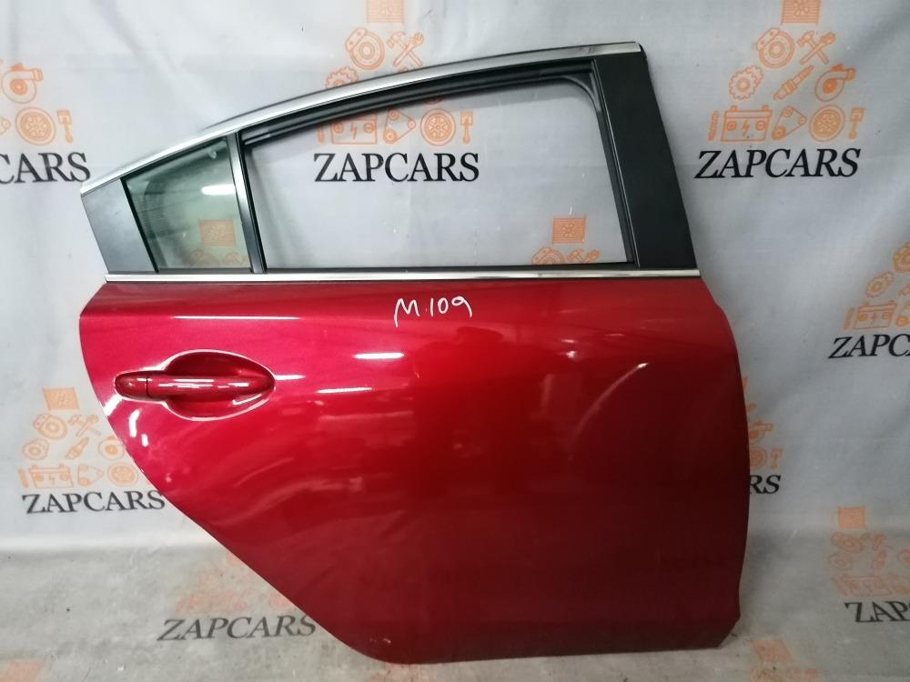 Дверь Mazda 6 GJ 2013 задняя правая (б/у)