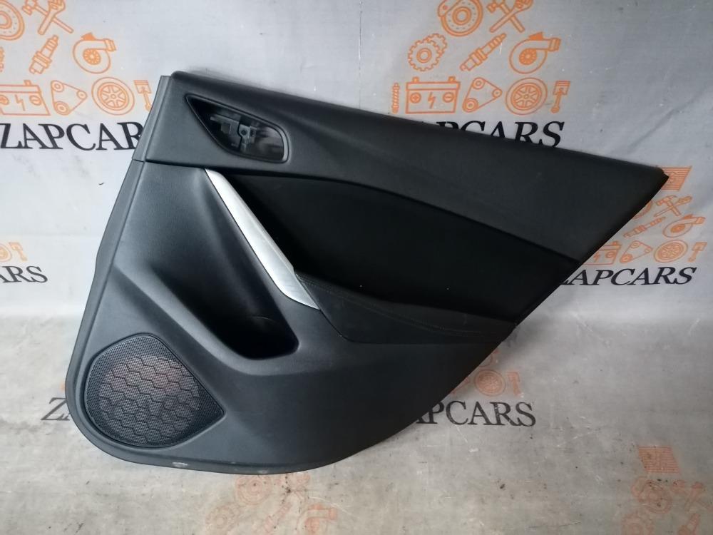 Обшивка двери Mazda 6 GJ 2013 задняя правая (б/у)