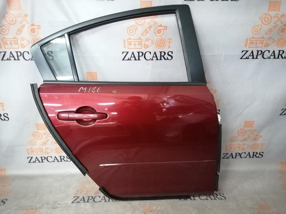 Дверь Mazda 3 BK Z6 2009 задняя правая (б/у)